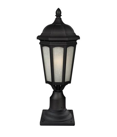 Z-Lite 508phb-533pm-bk Newport Collection 1 Light Outdoor Post Mount Light - ZLiteStore