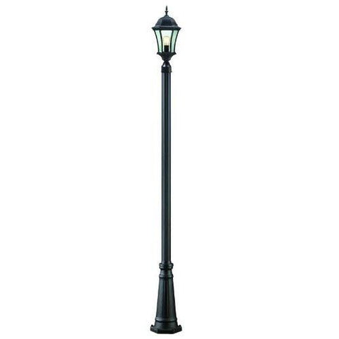 Z-Lite 522phm-519p-bk Wakefield Collection Outdoor Post Light - ZLiteStore