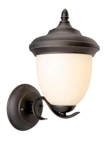 Design House 517680 Trevie Outdoor Uplight Orb Oil Rubbed Bronze - PeazzLighting