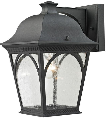 Cornerstone 8301EW/65 Cape Ann 1 Light Outdoor Coach Lantern In Matte Textured Black - PeazzLighting