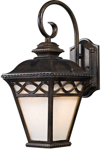 Cornerstone 8551EW/70 Mendham 1 Light Coach Lantern  In Hazelnut Bronze - PeazzLighting