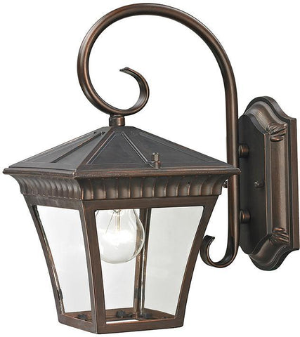 Cornerstone 8401EW/70 Ridgewood Coach Lantern In Hazelnut Bronze - PeazzLighting