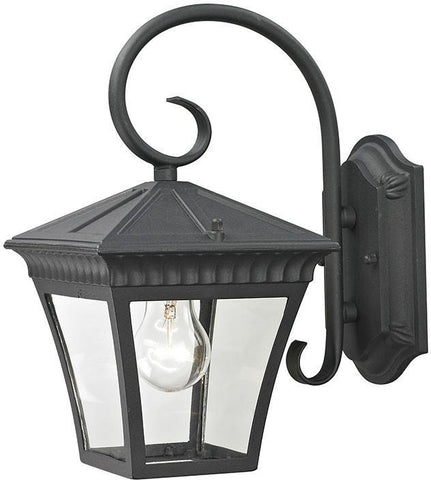 Cornerstone 8401EW/65 Ridgewood Coach Lantern In Matte Textured Black - PeazzLighting