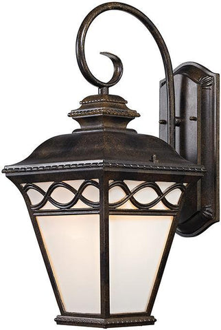 Cornerstone 8561EW/70 Mendham 1 Light Coach Lantern  In Hazelnut Bronze - PeazzLighting