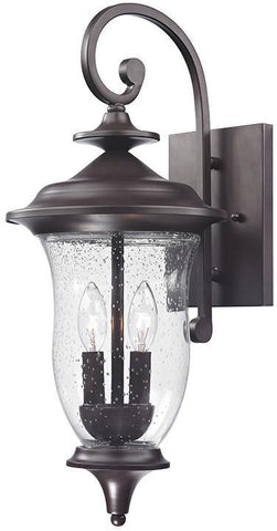 Cornerstone 8002EW/75 Trinity Coach Lantern In Oil Rubbed Bronze - PeazzLighting