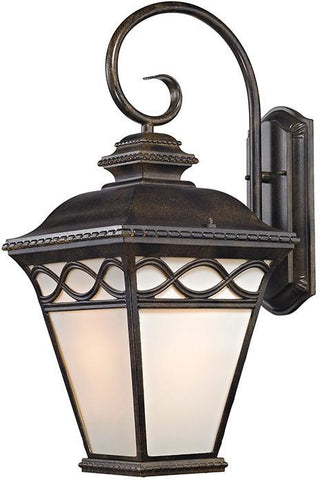 Cornerstone 8571EW/70 Mendham 1 Light Coach Lantern  In Hazelnut Bronze - PeazzLighting