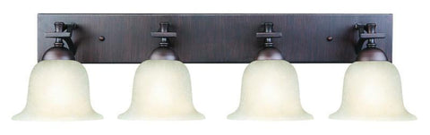 Design House 517656 Ironwood 4Lt Vanity Light Bb Brushed Bronze - PeazzLighting