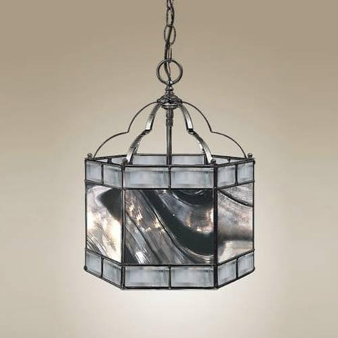 Z-Lite Metro Collection Black Chrome Finish Three Light Pendant - ZLiteStore