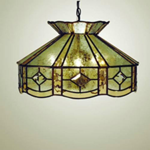 Z-Lite Diamond Collection Pewter Finish Six Light Pendant - ZLiteStore