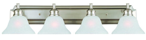 Design House 517128 517128 Bristol 4 Light Vanity Light Satin Nickel - PeazzLighting