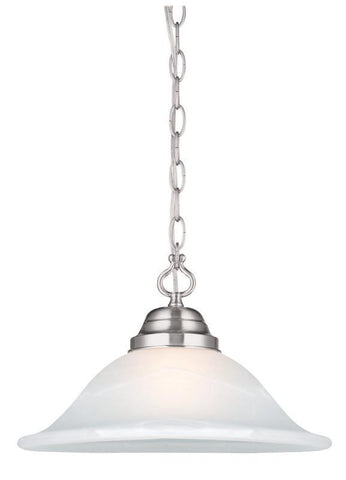 Design House 517565 Millbridge Swag Light Sn Satin Nickel - PeazzLighting