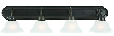 Design House 517714 Millbridge 4Lt Vanity Light Orb Oil Rubbed Bronze - PeazzLighting