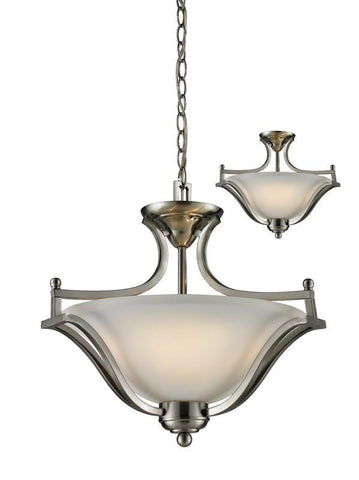 Z-Lite 704sfc-bn Lagoon Collection 3 Light Pendant - ZLiteStore