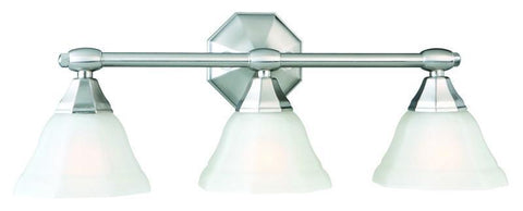 Design House 517938 Barcelona 3Lt Vanity Light Sn Satin Nickel - PeazzLighting