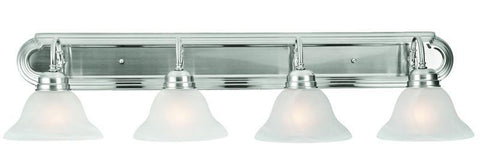 Design House 519215 Millbridge 4Lt Vanity Light Sn Satin Nickel - PeazzLighting