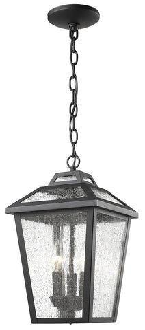 Z-Lite 539CHM-BK 3 Light Outdoor Chain Light - ZLiteStore