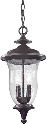 Cornerstone 8002EH/75 Trinity Pendant Lantern In Oil Rubbed Bronze - PeazzLighting