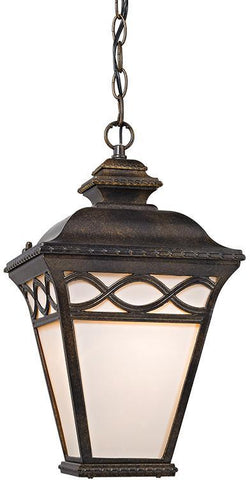 Cornerstone 8561EH/70 Mendham 1 Light Pendant Lantern In Hazelnut Bronze - PeazzLighting