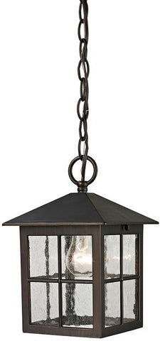 Cornerstone 8201EH/70 Shaker Heights Pendant Lantern In Hazelnut Bronze - PeazzLighting