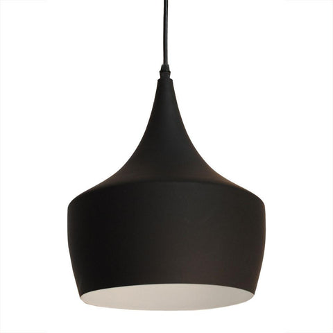 Bromi Design B6001 Berkley Black Single Light Pendant B6001 - PeazzLighting