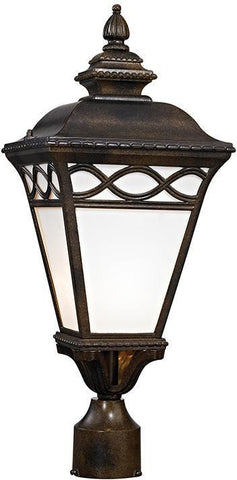 Cornerstone 8561EP/70 Mendham 1 Light Post Lantern In Hazelnut Bronze - PeazzLighting