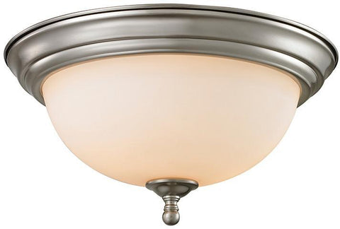 Cornerstone 1103FM/20 Chatham 3 Light Flush Mount In Brushed Nickel - PeazzLighting