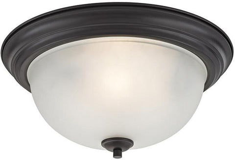 Cornerstone 2103FM/10 Bristol Lane 3 Light Flush Mount In Oil Rubbed Bronze - PeazzLighting