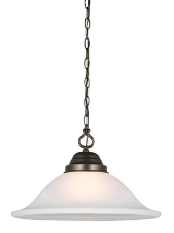 Design House 517664 Millbridge Swag Light Orb Oil Rubbed Bronze - PeazzLighting