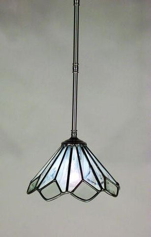 Z-Lite Quartz Collection Pewter Finish 1 Light Mini Pendant - ZLiteStore