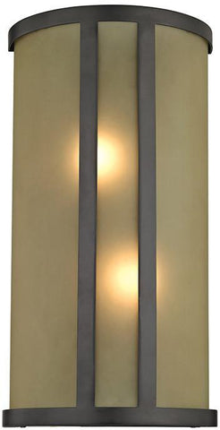 Cornerstone 5102WS/10 2 Light Wall Sconce In Oil Rubbed Bronze - PeazzLighting