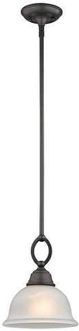 Cornerstone 2301PS/10 Hamilton 1 Light Pendant In Oil Rubbed Bronze - PeazzLighting