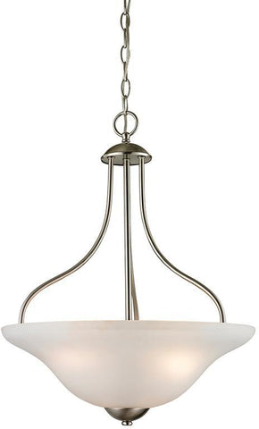 Cornerstone 1203PL/20 Conway 3 Light Large Pendant In Brushed Nickel - PeazzLighting