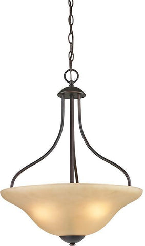 Cornerstone 1203PL/10 Conway 3 Light Large Pendant In Oil Rubbed Bronze - PeazzLighting