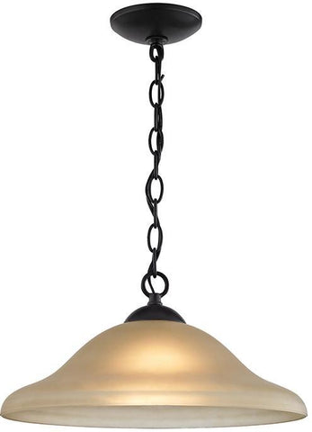 Cornerstone 1201PL/10 Conway 1 Light Pendant In Oil Rubbed Bronze - PeazzLighting
