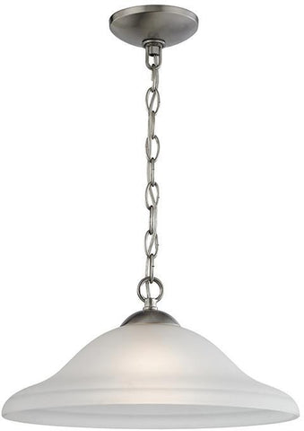 Cornerstone 1201PL/20 Conway 1 Light Pendant In Brushed Nickel - PeazzLighting