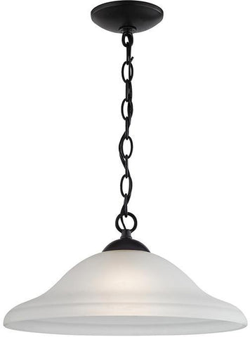 Cornerstone 1221PL/10 Conway 1 Light Pendant Large In Oil Rubbed Bronze - PeazzLighting
