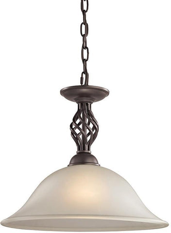 Cornerstone 2203PL/10 Santa Fe 1 Light Pendant  In Oil Rubbed Bronze - PeazzLighting