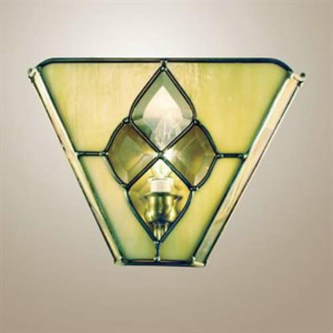 Z-Lite Frontenac Collection Antique Brass Finish One Light Wall Sconce - ZLiteStore