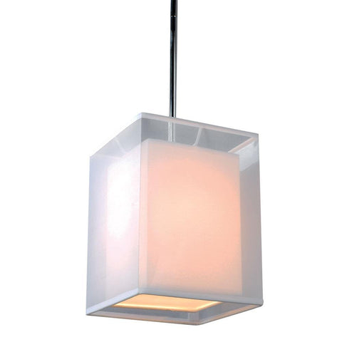 Bromi Design B5501 Phoenix Square 1 Light Pendant - PeazzLighting