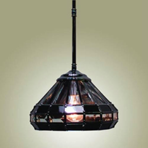 Z-Lite Metro Collection Black Chrome Finish One Light Mini Pendant - ZLiteStore