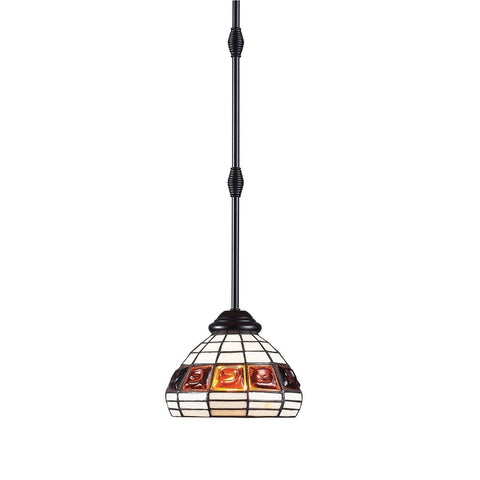 Z-Lite Grande Bronze 1 Light Mini Pendant F7-1R - ZLiteStore