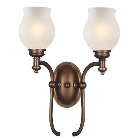 Z-Lite Hollywood Collection Olde Bronze Finish 2 Light Wall Sconce - ZLiteStore