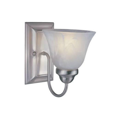 Z-Lite Lexington Collection Brushed Nickel Finish One Light Wall Sconce - ZLiteStore