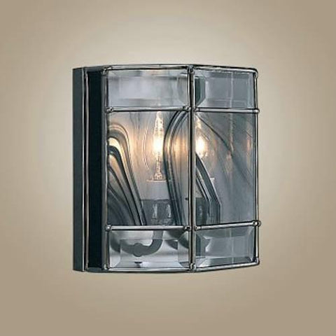 Z-Lite Metro Collection Black Chrome Finish Two Light Wall Sconce - ZLiteStore