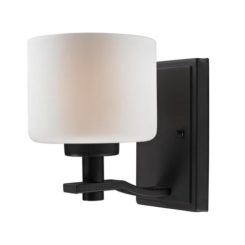 Z-Lite 220-1S Arlington Collection Oil Rubbed Bronze Finish 1 Light Wall Sconce - ZLiteStore