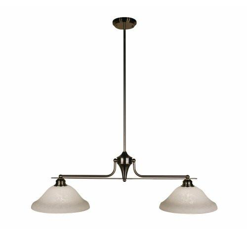 UPC 685659000139 product image for Z-Lite Huntingdale Collection Brushed Nickel Finish Two Lights Island/Billiard | upcitemdb.com
