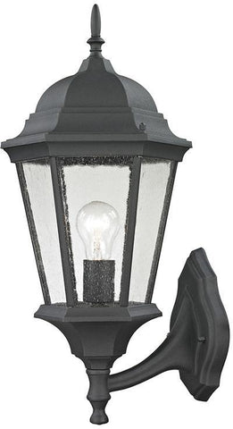 Cornerstone 8111EW/65 Temple Hill Coach Lantern In Matte Textured Black - PeazzLighting