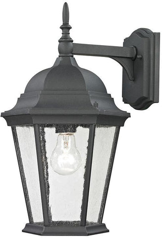 Cornerstone 8101EW/65 Temple Hill Coach Lantern In Matte Textured Black - PeazzLighting