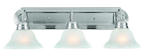 Design House 517383 Millbridge 3Lt Vanity Light Sn Satin Nickel - PeazzLighting