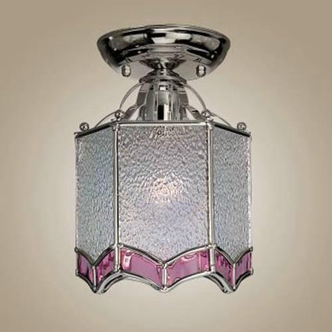 Z-Lite Palace Collection Pewter Finish One Light Flush Mount - ZLiteStore